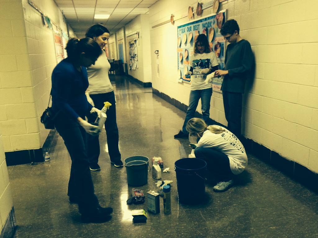 Hallway Volunteers