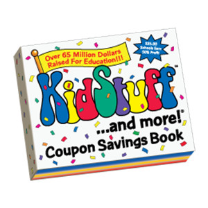 Kidstuff Coupon Book Fundraiser