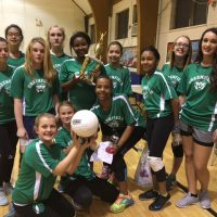 Greenfield School Volleyball Champs
