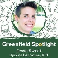 Greenfield Spotlight – Teacher Sweet